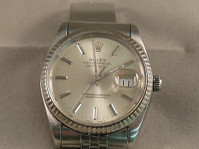 ROLEX Oyster Perpetual DateJust Watch Superlative Chronometer AUTHENTIC