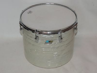 "Vintage Ludwig 12 x 15"" WMP Tom Drum Blue Olive # 1620209"