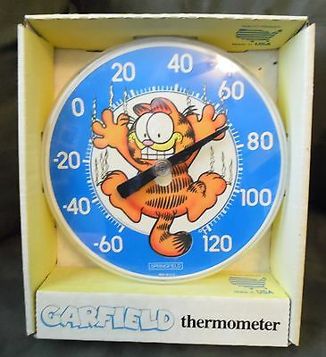 Vintage Garfield Wall Thermometer U.S.A.