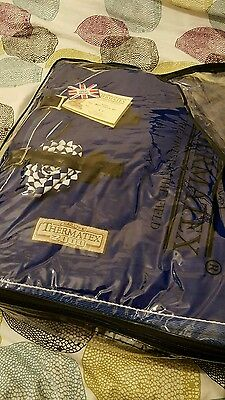Thermatex T2000 rug  royal blue brand new with tags