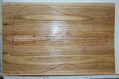 Tonholz Red Elm Ulme 24112 Guitar Top 11 mm Bookmatched Tonewood Aufleimer Neck