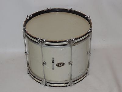 Vintage Slingerland 14 WMP Tenor Tom Drum Mahogany Shell Gold Chicago Badge #1