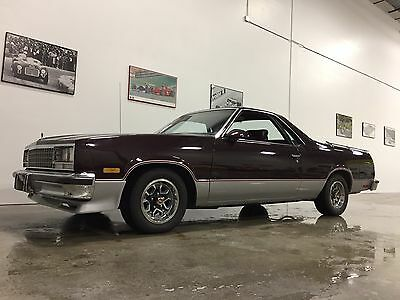 1987 Chevrolet El Camino SS 1987 Chevrolet Chevy El Camino SS nicest one on the market