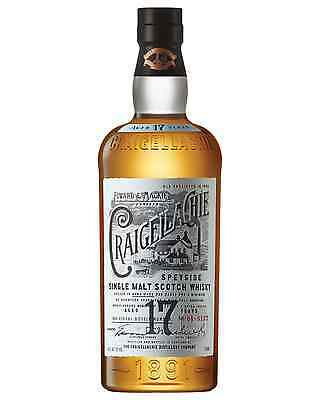 Craigellachie 17 Year Old Single Malt Scotch Whisky 700mL bottle