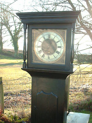 Antique Sill Of Wigton  Grandfather / Longcase Clock