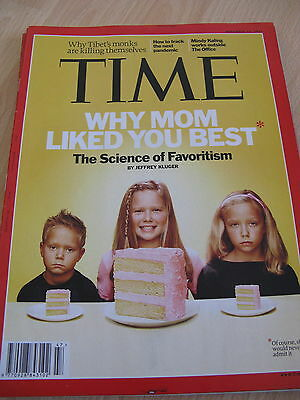 Time Magazine 14 November 2011 The Science of Favoritism