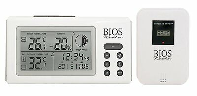 BIOS 312BC Indoor/Outdoor Thermo-Hygrometer with Wireless Data Transmission