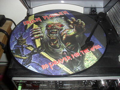 Iron Maiden -No Prayer For The Dying- Awesome Rare Picture Lp Printed In The Uk