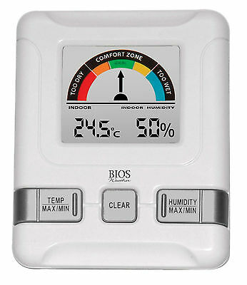 BIOS 258BC Thermo-Hygrometer with Comfort Scale.
