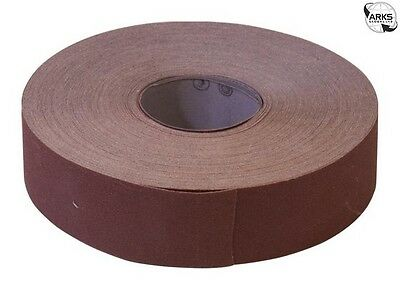 Emery Roll Brown 50mm 120 grit - WER7