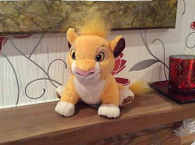 Simba From The Lion King Soft Toy