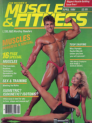 Muscle & Fitness Bodybuilding Magazine April 1984