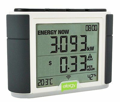 Efergy EF003 Elite Wireless Electricity Monitor with In-Home Display