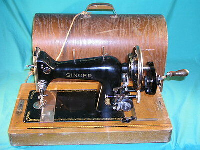 Rare Singer 218G Hand Sewing Machine Made in Germany c1955  PB 025959
