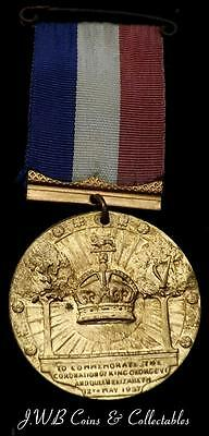 1937 King George VI & Queen Elizabeth Coronation Medal