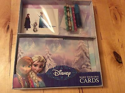 New Disney Frozen Make Your Own Christmas Cards - Elsa Olaf Anna