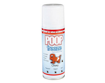Poop Freeze Smell Odour Cherry Dog Cat Dispose Harden Ease Pets Freshen