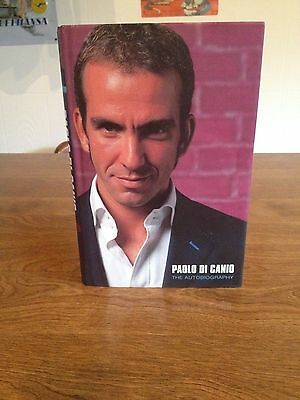 Signed Paolo Di Canio Autobiography.read Once.