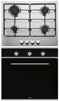 NEW Esatto EOG6 Electric Oven and Gas Cooktop Pack