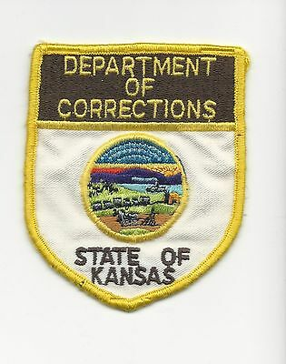 Department of Corrections State of Kansas Ks  with cloth back