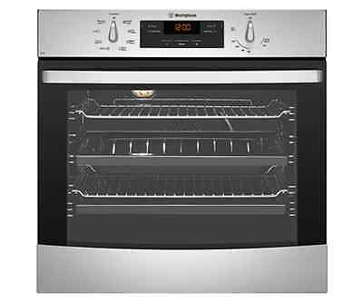Westinghouse WVE616S Stainless steel 60cm multifunction 8 oven