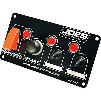 JOES RACING PRODUCTS 46125 Switch Panel Ing/Start w/2 Acc Switches