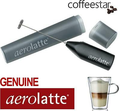 Aerolatte To-Go Milk Frother - Cappuccino Latte Milkshakes Hot & Iced Chocolate