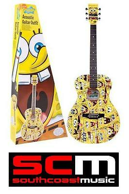 Spongebob Squarepants Steel String Acoustic Guitar Pack Brand New In Box