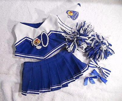 Build a Bear Clothes - Cheerleader Costume with Accessories