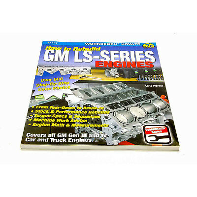 S-A BOOKS SA147 How To Rebuild GM LS Series Engines