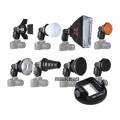 SGA-K9 Speedlight Flash Modifiers adapter K9 Kit For Canon Nikon YongNuo DSLR
