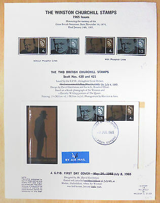 Sir Winston Churchill US Written Up Collection in GB Phosphor SEE BELOW XY205