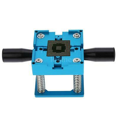 Blue Adjustable Reballing Station for Manual BGA Stencil Holder with Handle A6A9