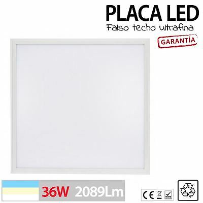Panel de LED 36W para empotrar en falso techo de 60x60 600x600