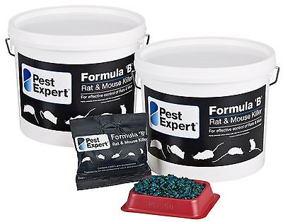 Pest Expert® Formula B Rat & Mouse Killer Bait (3Kg) Strong Rodent Poison