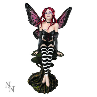 Nemesis Now Melanie Sitting Fairy Figurine Statue Fantasy Gothic Sculpture 47cm