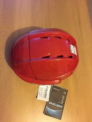Bauer Re-Akt 75 L helmet, Red