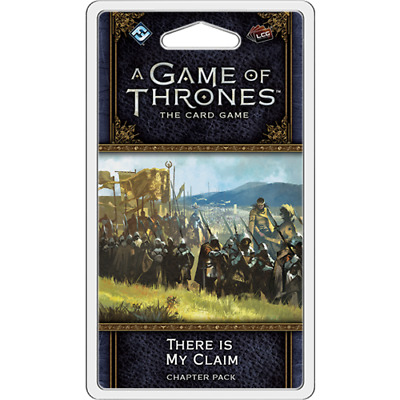 A Game of Thrones LCG  - There is My Claim Expansion (Pre-Order)