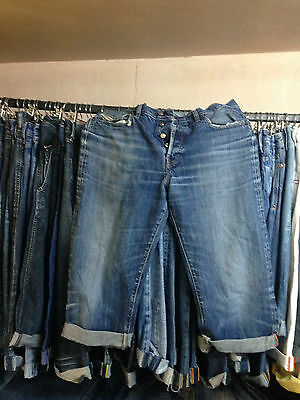 30 x Diesel Vintage Denim Jean Mens Shorts Job lot Wholesale