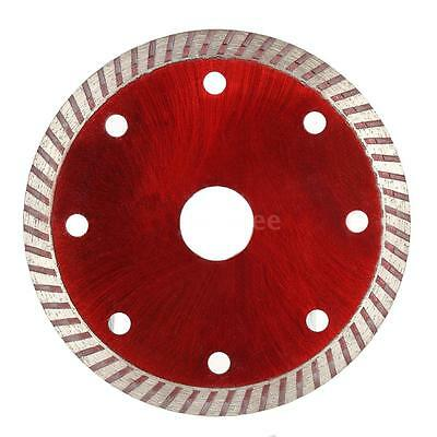 Diamond Cutting Ceramic Disc Saw Blade 8 Cooling Holes 105x1.0mm 20mm Inner M7Z6