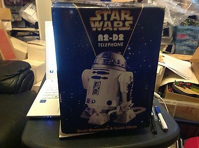 STAR WARS Vintage R2-D2 HOME TELEPHONE Hasbro RARE!!