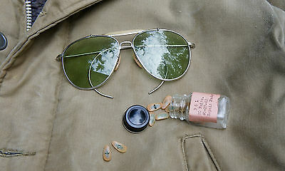 NOSE PADS for WW2 Bausch & Lomb vintage Aviator Sunglasses Ray Ban B&L AN-6531