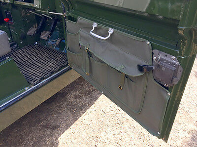 Land Rover  - Khaki Canvas Door Cards -24Hour Dispatch -New-
