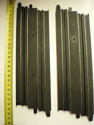2 x 9 Inch Straight Micro Scalextric Track