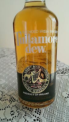 Tullamore Dew Unopened Old Bottle!! 70s-80s! Rare & Collectable!!
