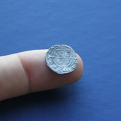 Hammered Silver Coin Edward 6th Penny 3rd Issue c 1550 AD