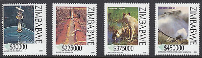 ZIMBABWE :2006 Water Conservation set SG1188-91 NMH