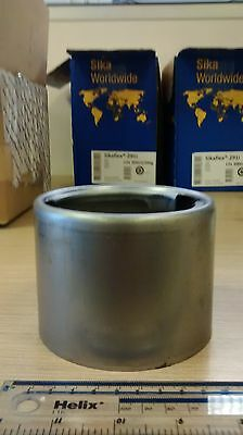 Weld On Large Stainless Steel Filler Neck with Locking Cap Truck Fuel Tank  WTSS