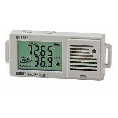 HOBO UX100-003 Temperature/Relative Humidity Data Logger with LCD Display, 3.5%