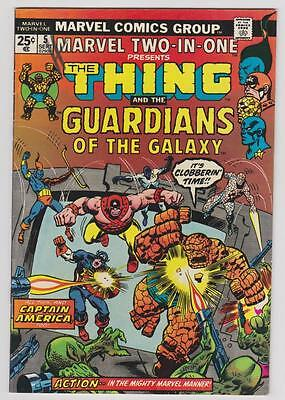 High Grade Marvel Comic Book: 1974 Two-In-One #5 Thing Guardians Galaxy (B049)